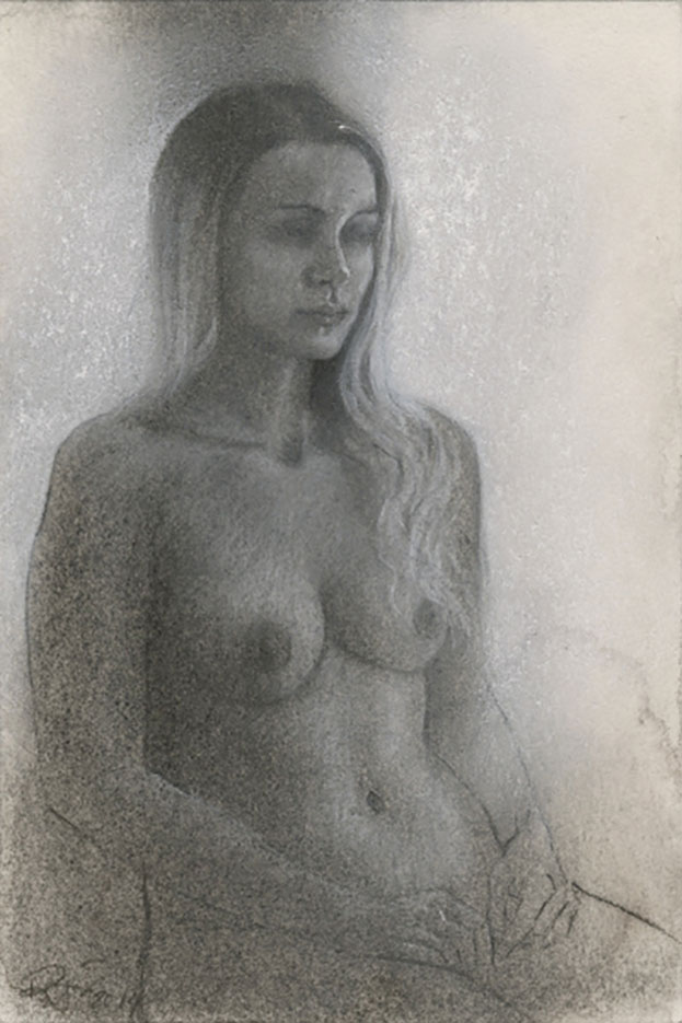 "Рубен Негрон (Reuben Negron) ""Laura"" (Drawings)"
