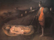 "Одд Нердрум (Odd Nerdrum) ""Sleeping prophet"""