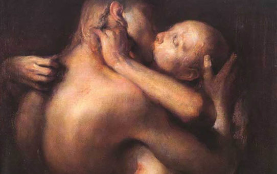 "Одд Нердрум (Odd Nerdrum) ""The Kiss"""