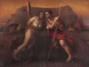 "Одд Нердрум (Odd Nerdrum) ""Two Tounges"""