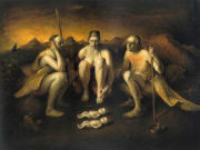 "Одд Нердрум (Odd Nerdrum) ""The Twins"""