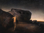 "Одд Нердрум (Odd Nerdrum) ""Man In Abandoned Landscape"""