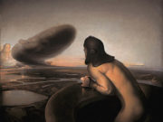 "Одд Нердрум (Odd Nerdrum) ""The cloud"""