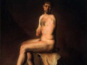 "Одд Нердрум (Odd Nerdrum) ""Unarmed Man"""