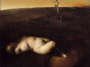 "Одд Нердрум (Odd Nerdrum) ""Pissing Woman"""
