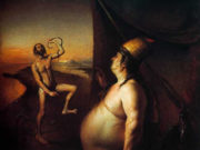 "Одд Нердрум (Odd Nerdrum) ""Dancer with Snake"""