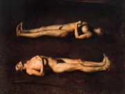 "Одд Нердрум (Odd Nerdrum) ""Dying Couple"""