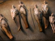 "Одд Нердрум (Odd Nerdrum) ""Five singing women"""