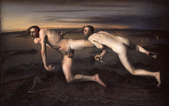 "Одд Нердрум (Odd Nerdrum) ""Woman kills injured man"""