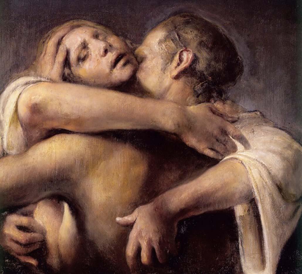 """Одд Нердрум (Odd Nerdrum) """"Embrace"""""""