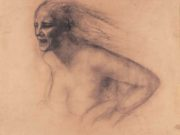 "Одд Нердрум (Odd Nerdrum) ""Shout (study)"""