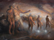 "Одд Нердрум (Odd Nerdrum) ""Quenching the Torches"""