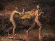 "Одд Нердрум (Odd Nerdrum) ""The Golden Cape"""