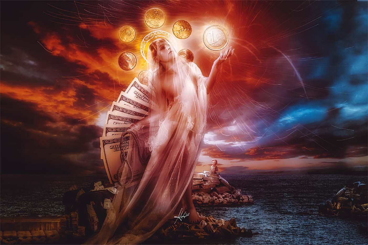 """Марио Санчес Невадо (Mario Sanchez Nevado) """"St Mary of coins"""""""