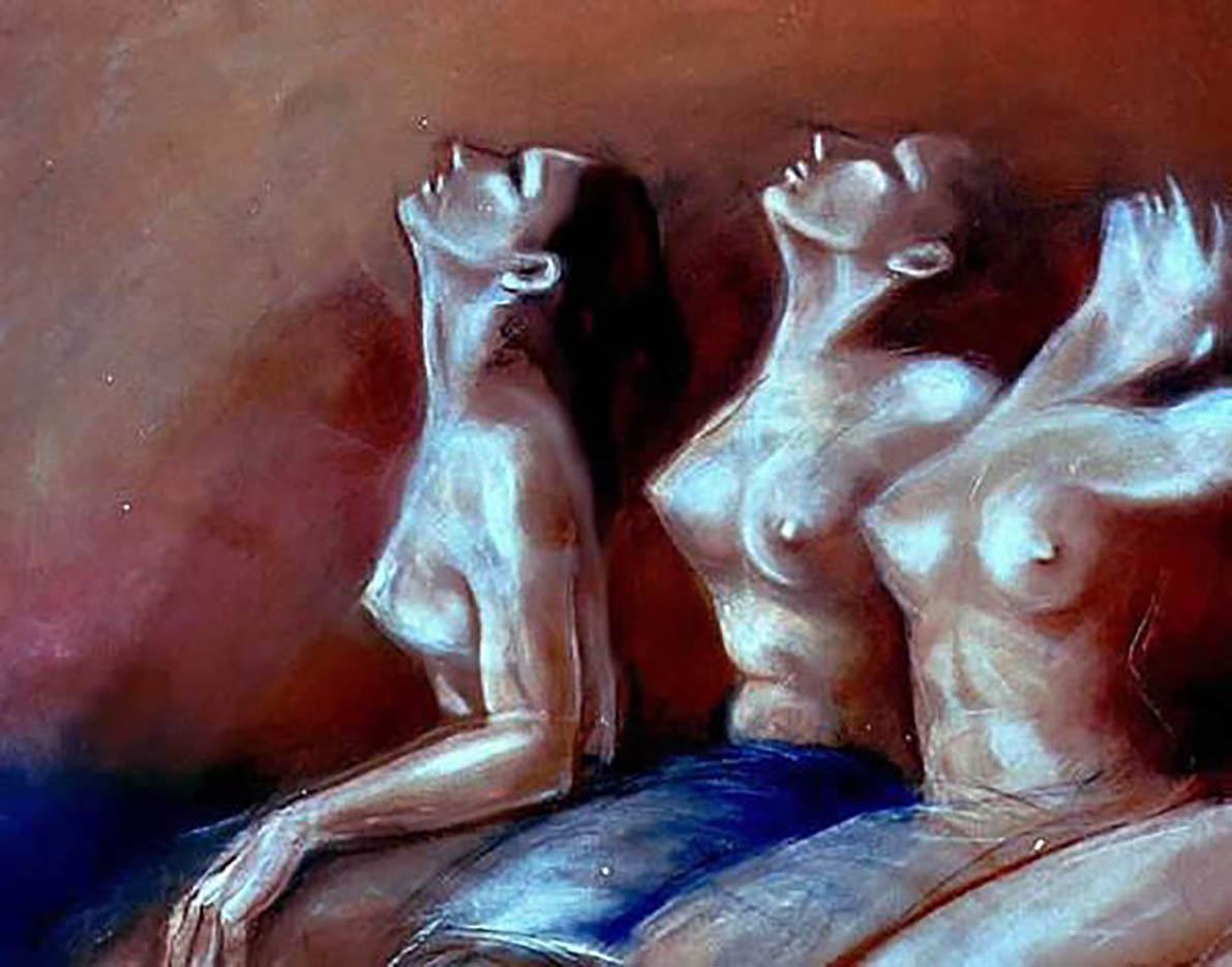 "Борис Новак (Boris Novak) ""Three muses"""