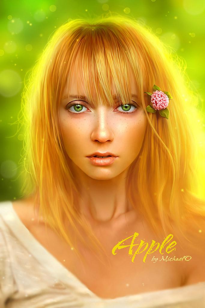 "Майкл Освальд (Michael Oswald), ""Apple"""