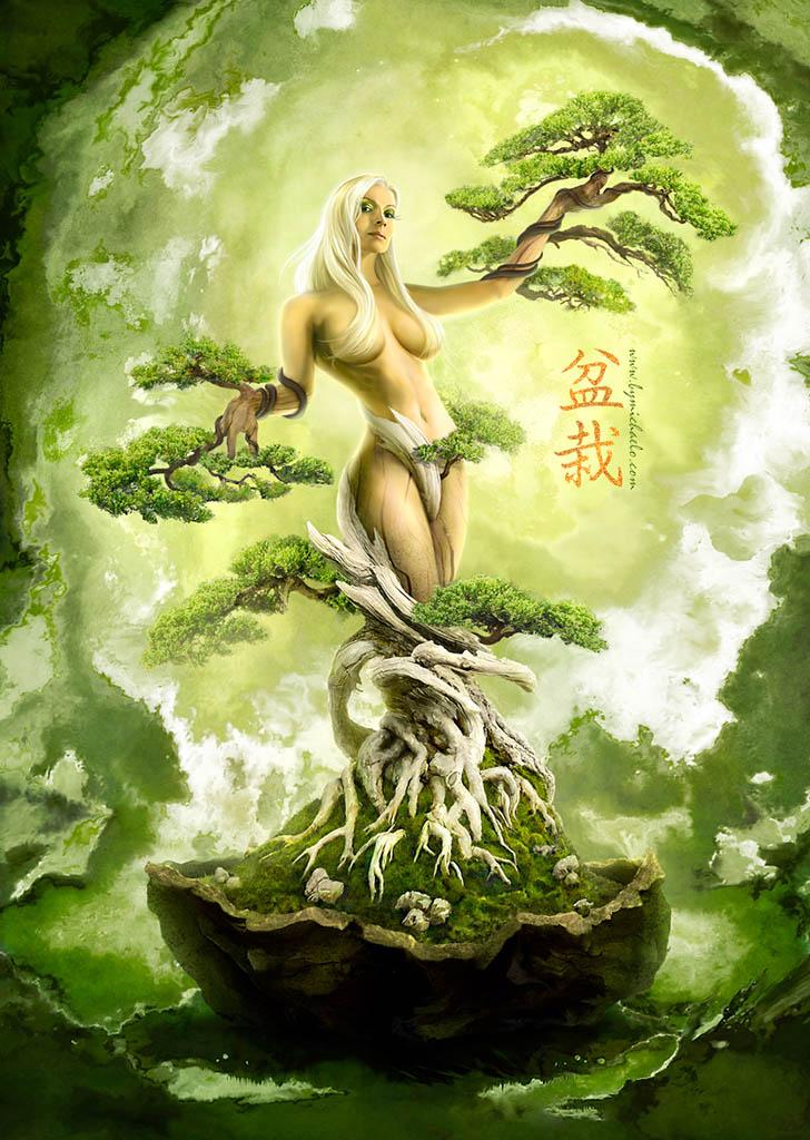 """Майкл Освальд (Michael Oswald), """"Bonsai - Tree of Life"""""""