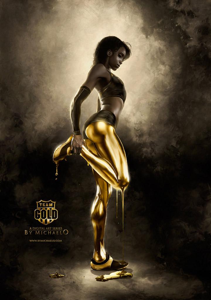 "Майкл Освальд (Michael Oswald), ""Team Gold Sketch"""