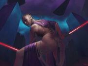 """Саймон Палмер (Simon Palmer) """"Sith woman with sabers"""""""
