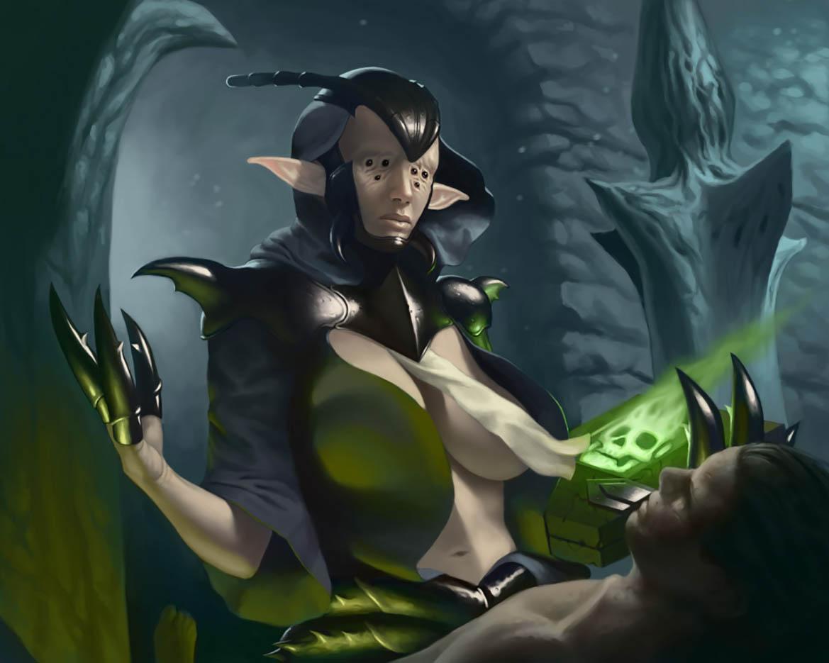 "Саймон Палмер (Simon Palmer) ""Corpseeater Elf Priestess"""