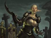 "Саймон Палмер (Simon Palmer) ""Corpseeater Elf Guardian"""
