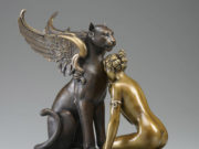 "Майкл Паркес (Michael Parkes) Bronze Sculptures ""Meditation"""