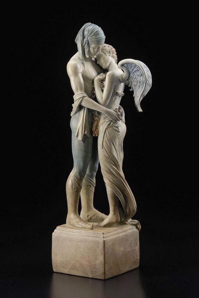 "Майкл Паркес (Michael Parkes) Bronze Sculptures ""Last Peony"""