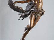 "Майкл Паркес (Michael Parkes) Bronze Sculptures ""Night Flight - 1"""