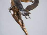 "Майкл Паркес (Michael Parkes) Bronze Sculptures ""Night Flight - 2"""