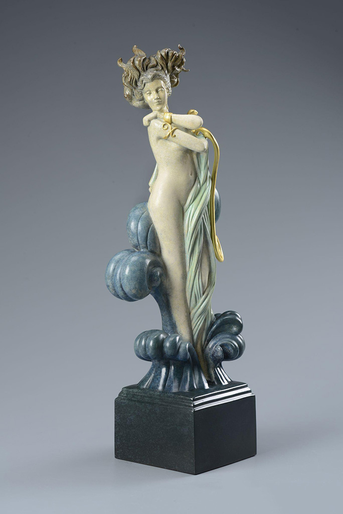 "Майкл Паркес (Michael Parkes) Bronze Sculptures ""Venus"""