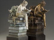 "Майкл Паркес (Michael Parkes) Bronze Sculptures ""Ex Libris - 2"""