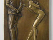 "Майкл Паркес (Michael Parkes) Bronze Sculptures ""Gift for the Disillusioned Man"""