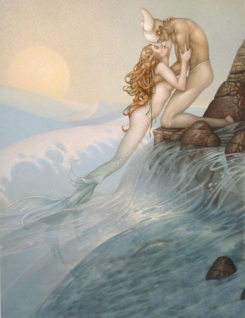 "Майкл Паркес (Michael Parkes) ""La Sirene"""