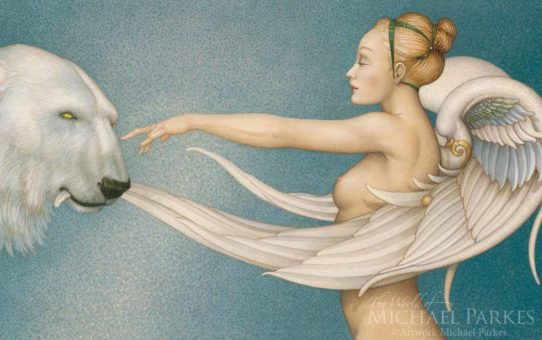 "Майкл Паркес (Michael Parkes) ""Polar Wings"""