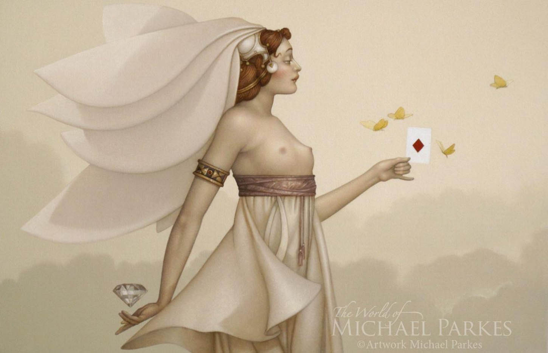 "Майкл Паркес (Michael Parkes) ""Queen of Diamonds"""