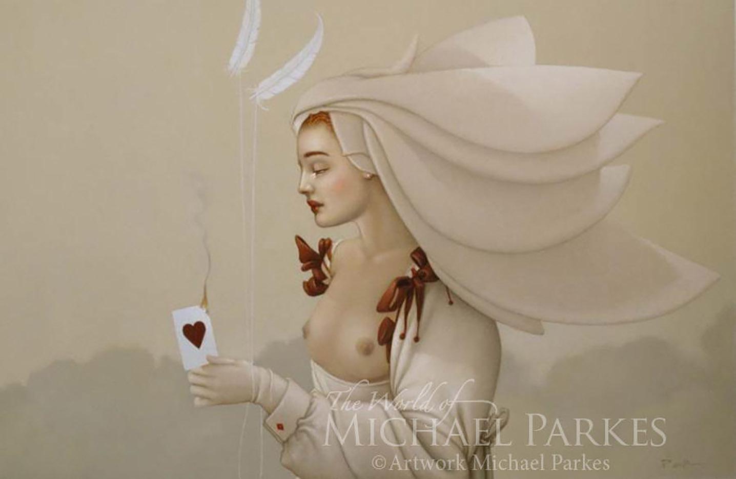 "Майкл Паркес (Michael Parkes) ""Queen of Hearts"""