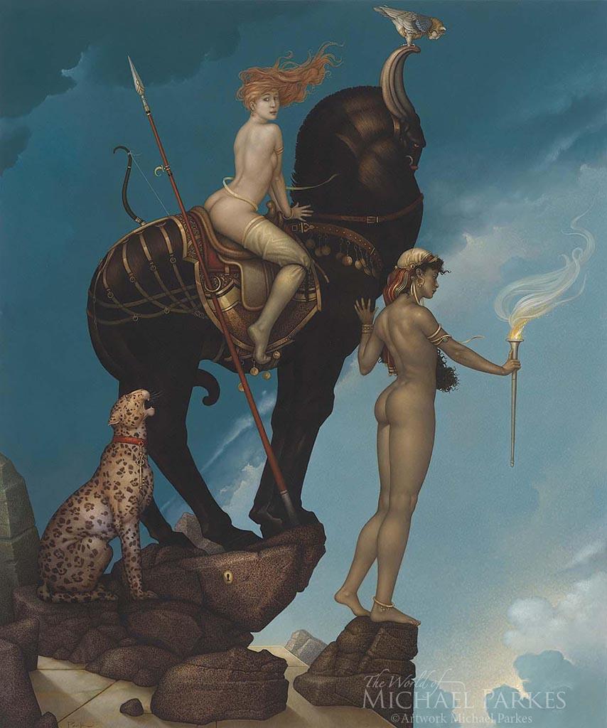 """Майкл Паркес (Michael Parkes) """"Return of Persephone """""""