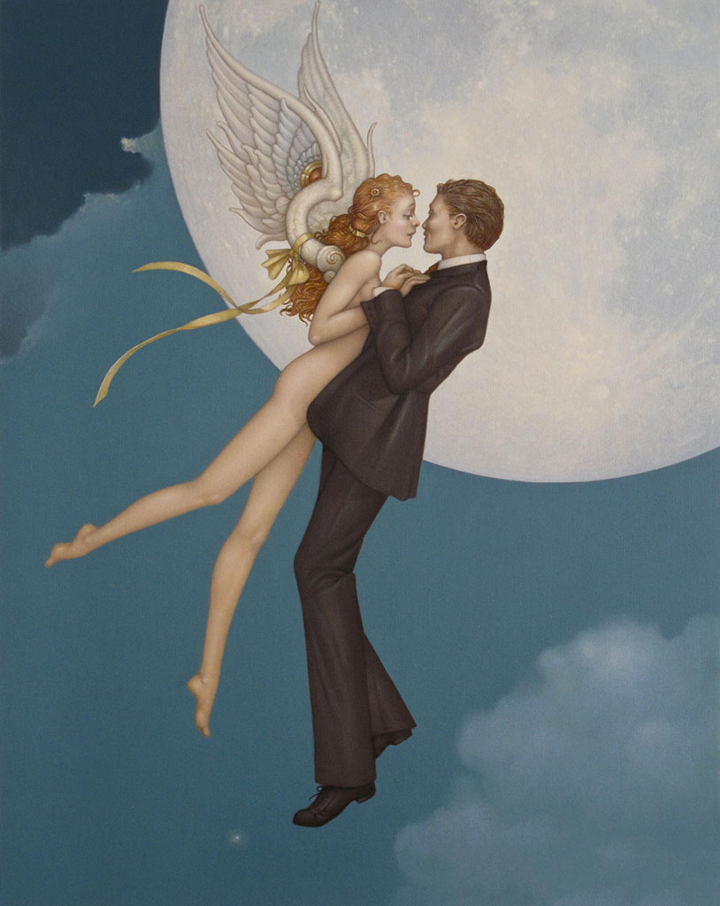 "Майкл Паркес (Michael Parkes) ""Dancing with an Angel"""