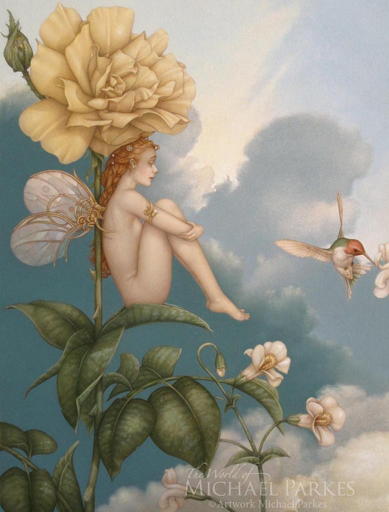 "Майкл Паркес (Michael Parkes) ""Shade of the Rose"""