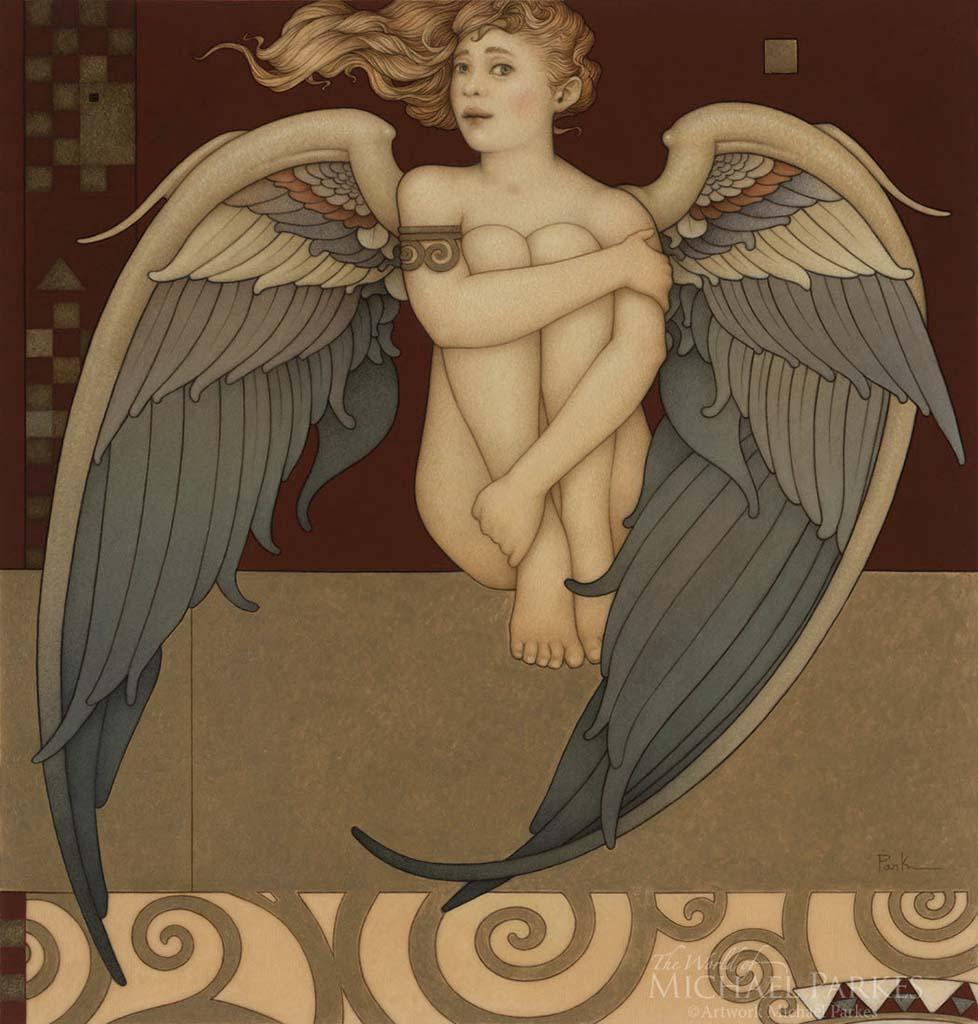 "Майкл Паркес (Michael Parkes) ""Shy Angel"""