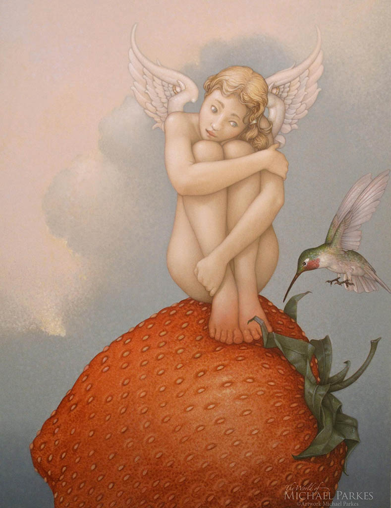 "Майкл Паркес (Michael Parkes) ""Stawberry Fields"""