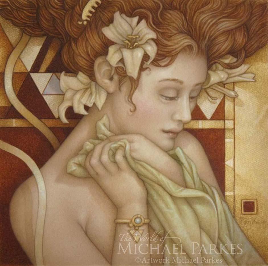 "Майкл Паркес (Michael Parkes) ""White Lilies"""
