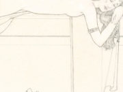 "Майкл Паркес (Michael Parkes) ""Angel Sleeping (Drawing & Sketch)"""