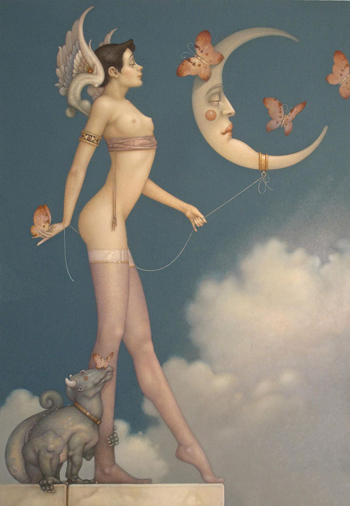"Майкл Паркес (Michael Parkes) ""Butterfly Moon"""