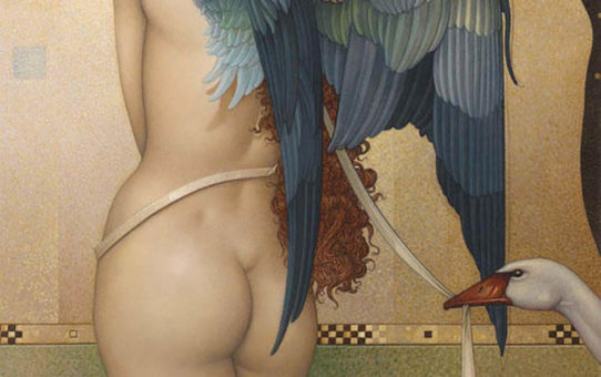 "Майкл Паркес (Michael Parkes) ""Angel Interrupted"""