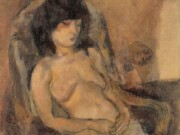 "Жюль Паскин (Jules Pascin) ""Model on Armchair"""