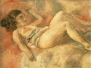 "Жюль Паскин (Jules Pascin) ""Sleeping Naked Girl"""