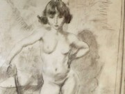 "Жюль Паскин (Jules Pascin) ""Little Nude"""