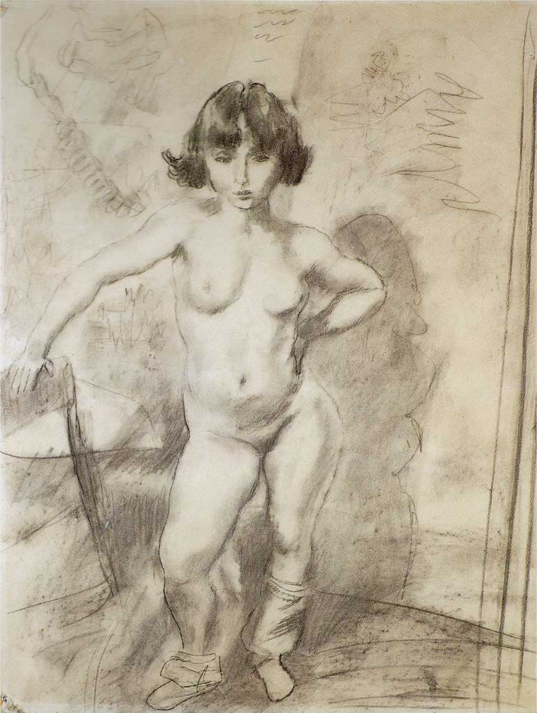 "Жюль Паскин (Jules Pascin) ""Little Nude"""