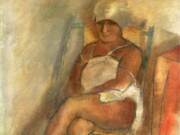 """Жюль Паскин (Jules Pascin) """"Woman from Martinuque with Turban"""""""